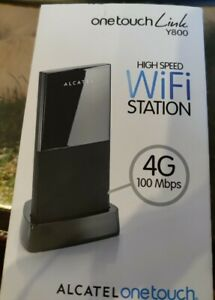 Alcatel onetouch Link Y800Z 2AALDE1 WiFi-LTE-Station Router schwarz, UMTS GSM