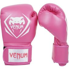 Venum Pink Boxing Gloves Contender Sparring Muay Thai MMA Kickboxing 8 10 12 oz