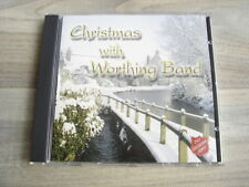 brass SALVATION ARMY CD xian CHRISTMAS WITH Worthing Citadel Band ENGLISH UK EX+
