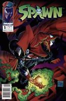 Spawn #1 Newsstand Edition (1992-Present) Image Comics