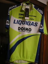 NALINI Liquigas Team Cycling Jersey Men's Size 5-XL New With Tags
