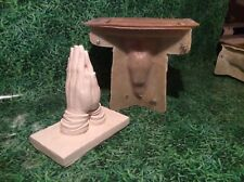 LATEX ONLY MOULD PRAYING HANDS 25CM TALL ©