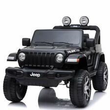 Auto macchina elettrica bambini jeep wrangler rubicon 2 poggiatesta 12V