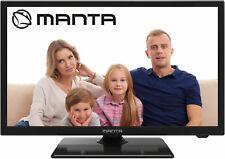 "Manta 22"" Inch LED Digital Terrestrial Freeview TV 12v 240v USB PVR Recording"