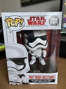 Star Wars First Order Executioner 201 Funko Pop