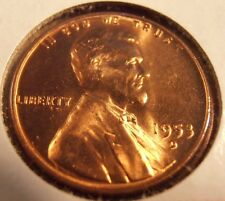 1953 D LINCOLN CENT, BU