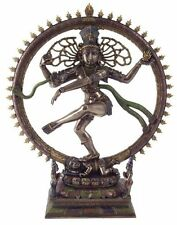 "10.5"" Hindu Shiva Nataraja Dancing Statue Deity HInduism Sculpture Figurine"