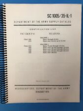 Department Of The Army Supply Catalog, Identification List, Vol 1-2, 1975