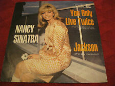 """7"""" 45rpm NANCY SINATRA You Only Live Twice / Jackson REPRISE GER"""