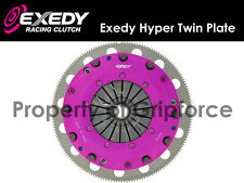 EXEDY RACING STAGE 4 HYPER TWIN PLATE CLUTCH KIT 96-08 FORD MUSTANG GT 4.6L 281""