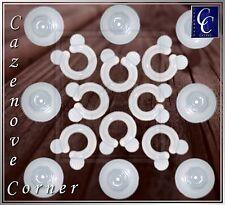 8Pk Duvet clips - Duvet fasteners donuts / Duvet grips / gripper for duvet