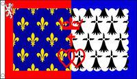 5' x 3' Pays De La Loire Flag France Region Regional French Province Banner