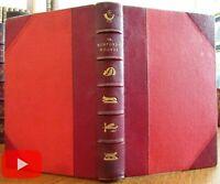 John Leech HK Browne color plates c.1858 Surtees leather book Romford's
