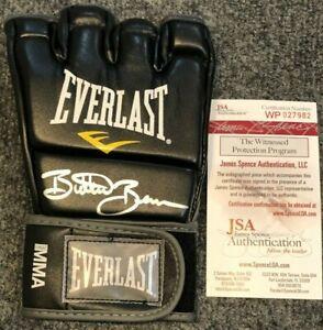 """ERIC """"BUTTERBEAN"""" ESCH AUTOGRAPHED SIGNED MMA GLOVE JSA COA"""