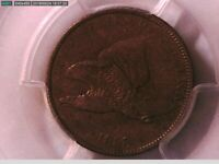 1858 Flying Eagle Cent PCGS XF 45 Small Letters 24387825 Video