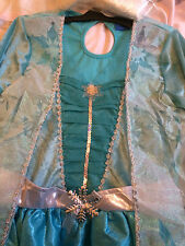 Disney Frozen Elsa Costume with Wig - Age 11-12 years BNWT
