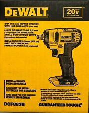 """DeWALT DCF883B 20V Li-Ion 3/8"""" Taladro del impacto sin cuerda Herramienta Desnudo Nuevo En Caja"""