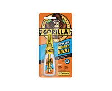 Gorilla 44350 Brush & Nozzle Superglue - 12g