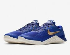 8178459fed7bf Nike Metcon 3 Royal REIGN AA3155-400 Concord Blue Gold UK 5.5 EU 38.5 24cm