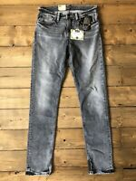 Levis Jeans 511 Skateboarding Style Slim Fit W31 L34 Grey / Black Wash BNWT