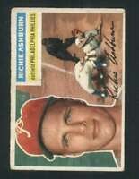 1956 Topps #120 Richie Ashburn VGEX Phillies 94690