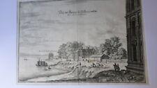 PARIS - Gravure authentique du 18eme siècle - Les  Tuileries - 18/28 -