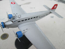 Junkers Ju-52 Swiss Air 1940  / Metall 1:144  Yakair / Avion