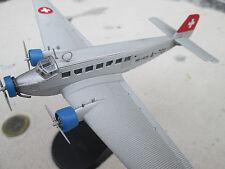 Junkers Ju-52 Swiss Air 1940  / Metall 1:144  Yakair / Avion