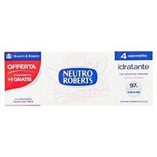 Neutro Roberts - Saponette neutre Extra Idratante con glicerina Naturale P...