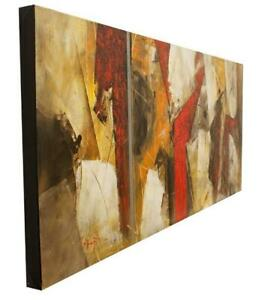 Juan Rodolfo LOPEZ titled abstract large piece for this artist