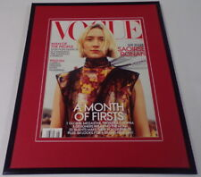 Saoirse Ronan 11x14 Framed ORIGINAL 2018 Vogue Magazine Cover