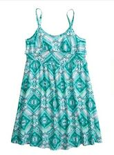 Justice Printed Flounce Dress Girls clothes Size 14 NWT!! Free Shipping!