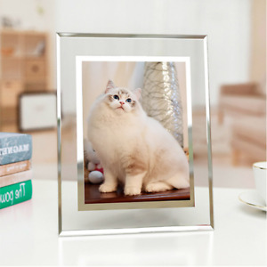 """Crystal Baby"" Modern Glass Photo Picture Frame Beautiful Home Wedding Frame"