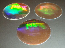 1989 Upper Deck Vintage 80's Logo Hologram Stickers Pittsburgh Pirates Lot of 3