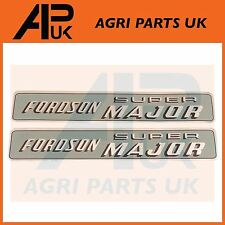 Fordson Super Major Tractor Hood Bonnet Decal Sticker Set Kit Transfer Emblem