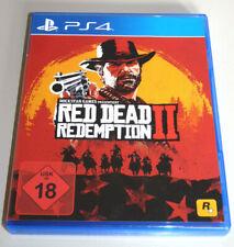 RED DEAD REDEMPTION 2 (PlayStation 4) PS4 DEUTSCH RDR II