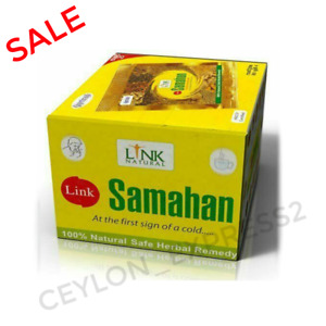 200 SAMAHAN Ayurveda Herbal Tea Link Natural Ceylon Tea Drink for Cough & Cold