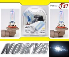 Nokya 5000K White 9005 HB3 Nok8011 100W Two Bulbs Head Light High Beam Halogen