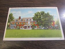 VILLA ST. ELIZABETH HOME FOR THE AGED - READING PA  - POST CARD