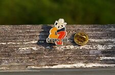 2&7 Calgary 1988 Panda in Cowboy Hat Gold Tone Metal & Enamel Lapel Pin Piback