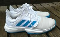 Adidas Game Court Mens Tennis Shoes US 11 UK 9.5 EU 44 Cloud White/Tech Ink Blue