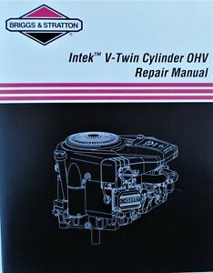 Genuine OEM Briggs & Stratton 273521  repair manual - intk v2 ohv