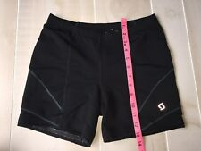 WOMENS  MOVING COMFORT BLACK     COMPRESSION SHORTS SIZE M