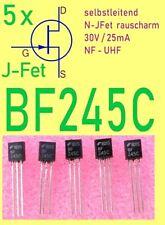 5x Fairchild BF245 C JFET N-Kanal Schalter Amplifier NF | HF | UHF