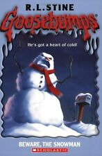 Goosebumps #51: Beware, the Snowman by R L Stine, R.L. Stine