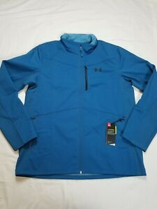 Under Armour Coldgear Infrared Shield Jacket,  Color Acadia Size XL NWT 1321438