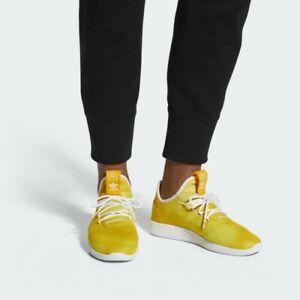 Adidas Mens Boys PW HU HOLI Tennis HU Pharrell Williams Shoes DA9617 UK 3.5 - 6