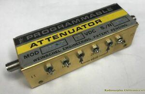 Programmable Attenuator WEINSCHEL mod. 3201-2