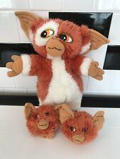 RETRO- Gremlins 2 The New Batch Gizmo & 2 Baby Mogwai Hornby 1991 Plush Soft Toy
