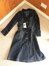 Trench Machine Washable Solid 100% Cotton Coats & Jackets for Women